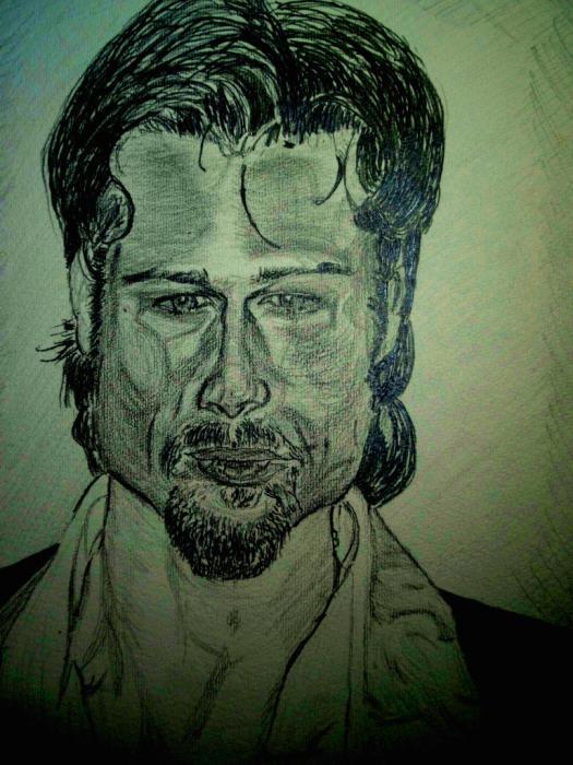 Brad Pitt by tksmrymds